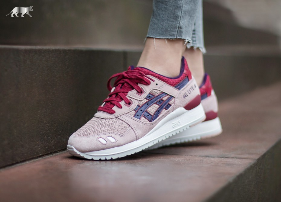 asics gel lyte adobe rose