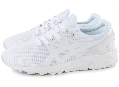 asics blanche solde