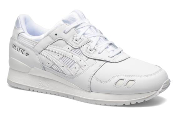 baskets asics femme blanches