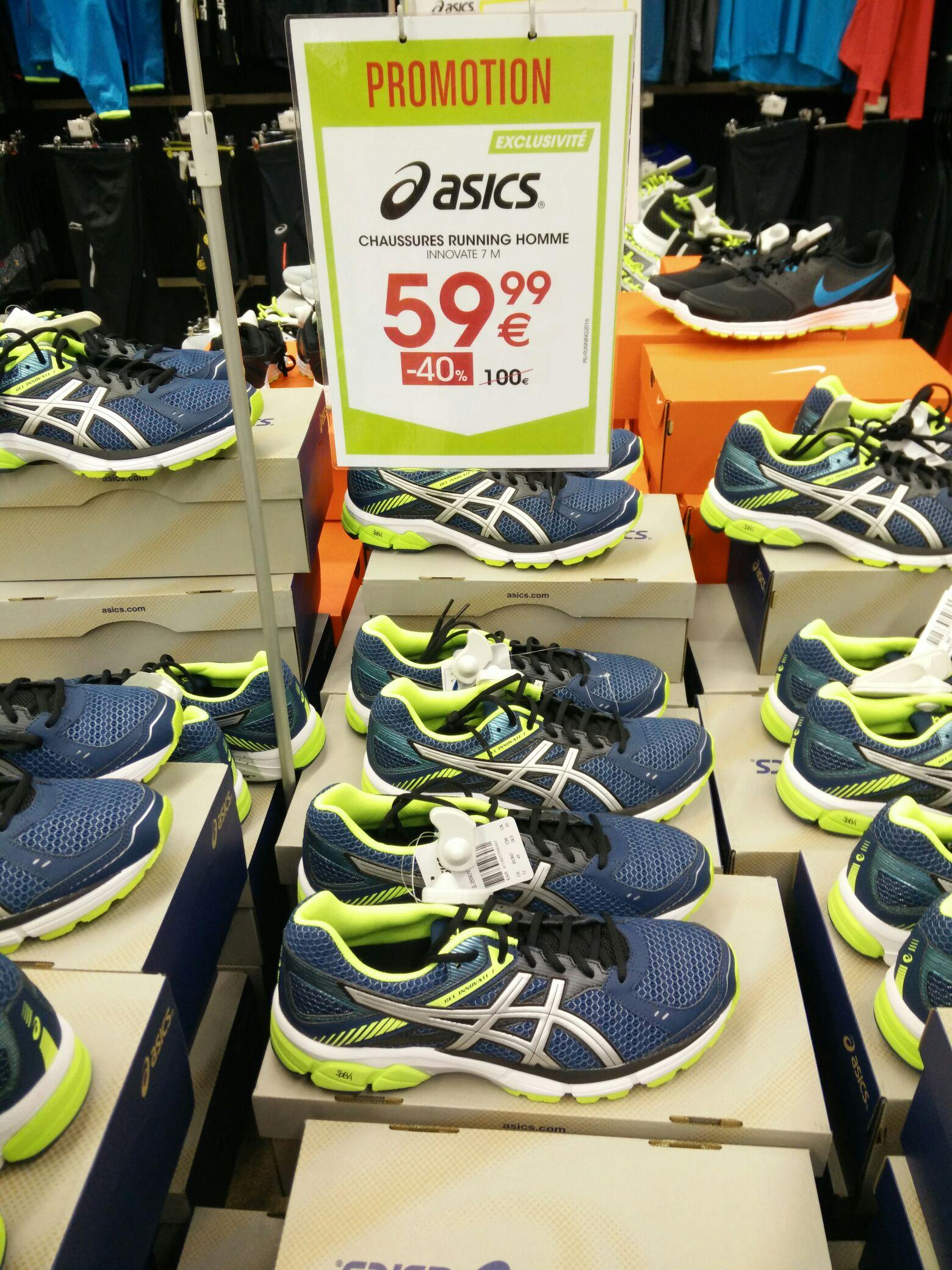 ,go sport chaussures asics homme